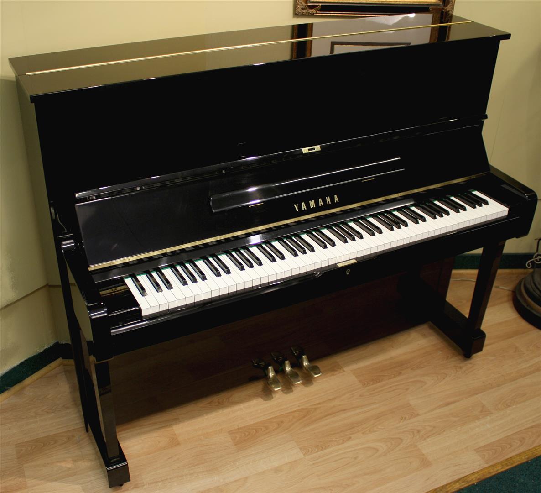 White Yamaha Upright Piano Yamaha u1 upright piano 48 quot Yamaha Upright Piano White