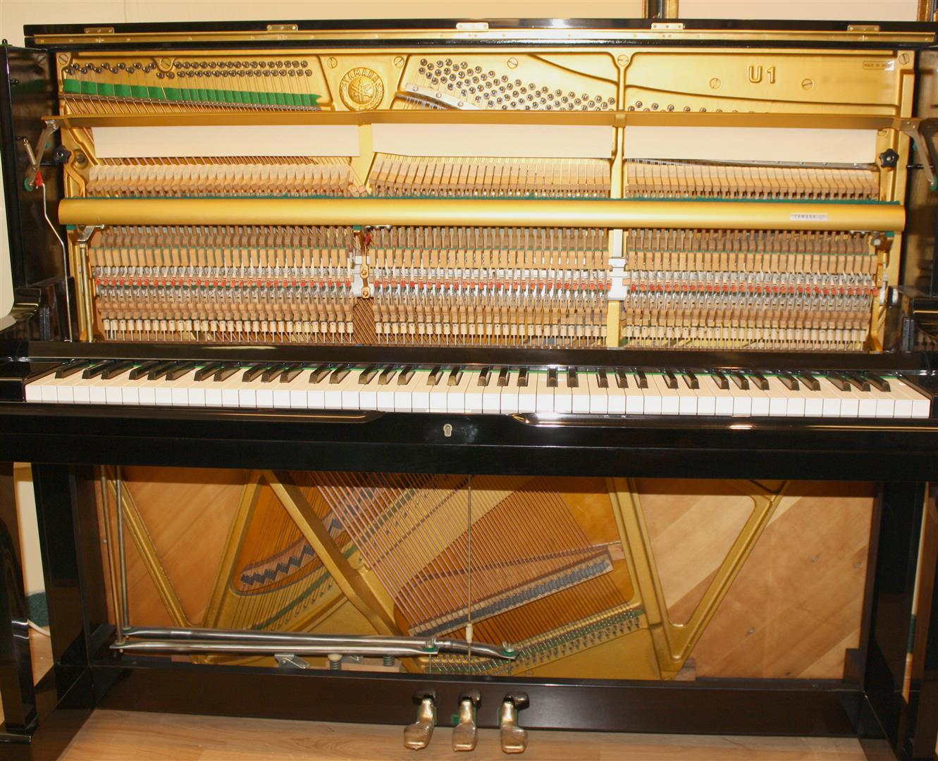 Four star reconditoned yamaha yamaha u1 upright piano 48 for U3 yamaha price